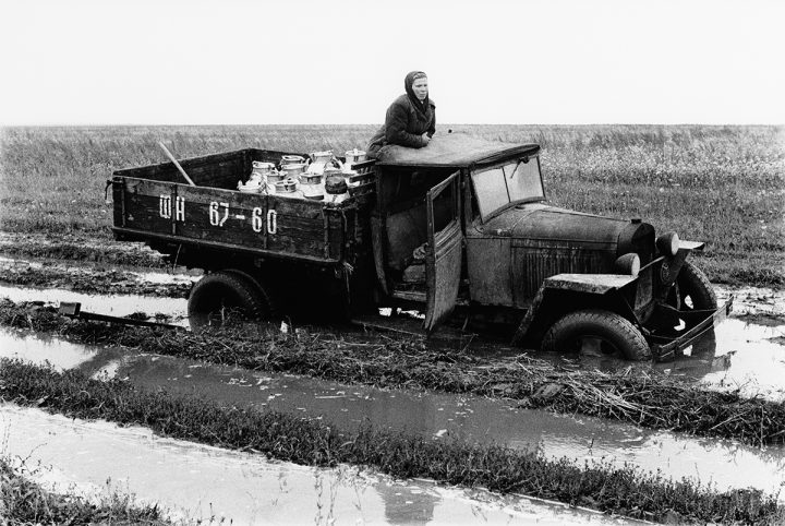 Mjölkbilen