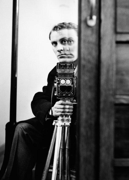 Georg Oddner självporträtt