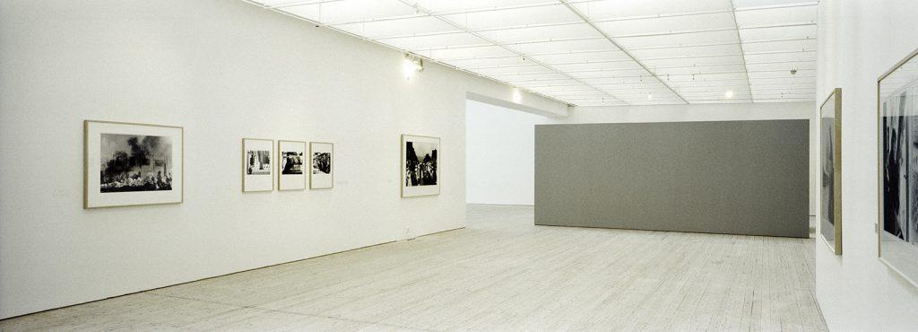 Från utställningen Genomresa, Malmö Konsthall 2003. Foto: © Åke Hedström