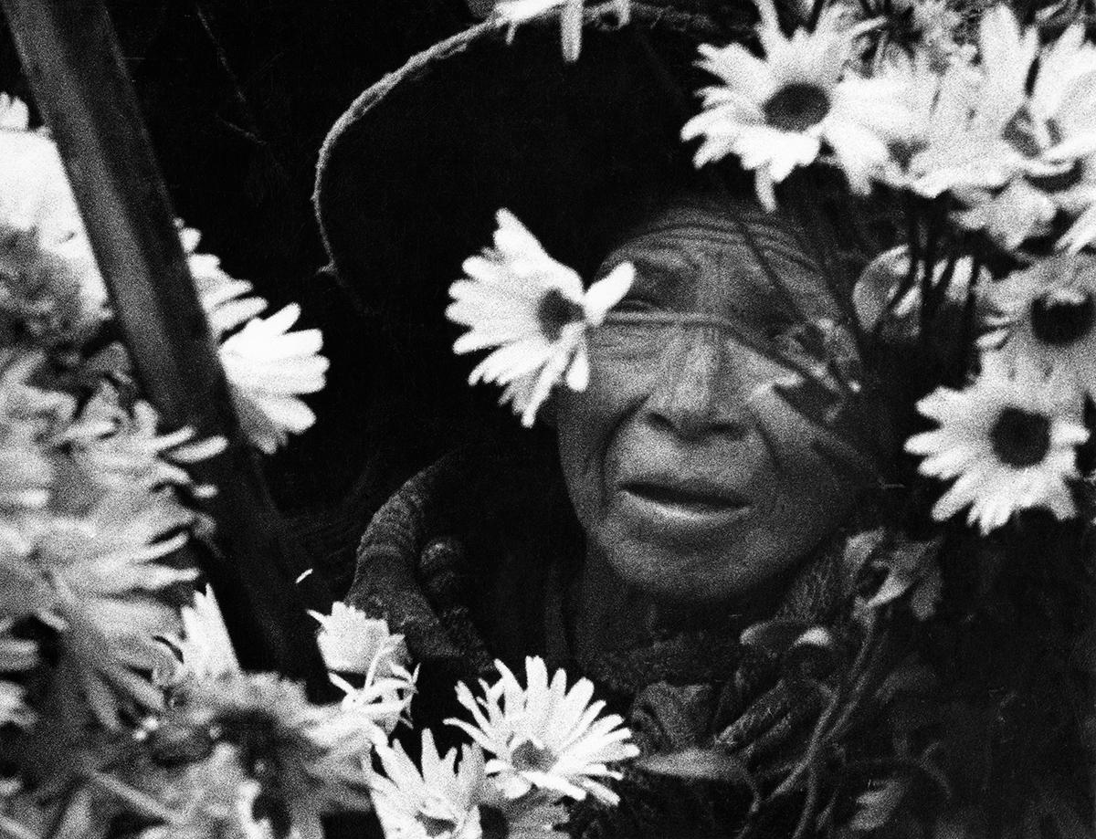 Blomsterförsäljerska