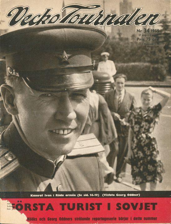 Tidskriften Veckojournalen, USSR (Georg Oddner)